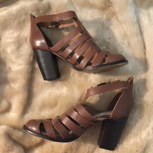 Seychelles Brown Good Leather Size 10 Heels 👠